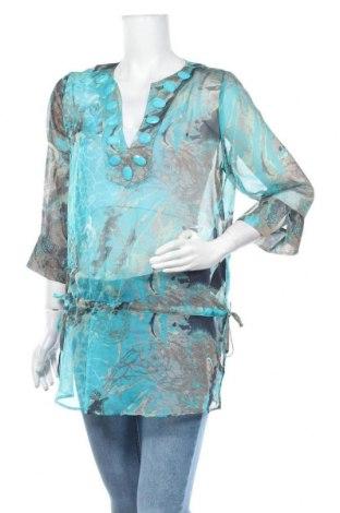 Дамска блуза Comma,, Размер M, Цвят Многоцветен, 100% полиестер, Цена 47,25лв.