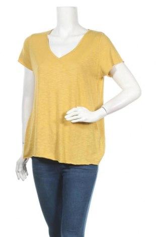 Дамска блуза Essential by Noa Noa, Размер S, Цвят Жълт, 55% памук, 45% вискоза, Цена 46,50лв.