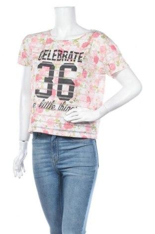 Дамска блуза Fb Sister, Размер M, Цвят Многоцветен, Цена 3,00лв.