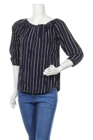 Дамска блуза Free Quent, Размер S, Цвят Син, 100% вискоза, Цена 19,47лв.