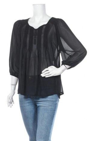 Дамска блуза Free Quent, Размер S, Цвят Черен, Полиестер, Цена 7,56лв.
