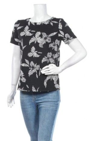 Дамска блуза Free Quent, Размер XS, Цвят Черен, 80% полиестер, 17% вискоза, 3% еластан, Цена 17,70лв.