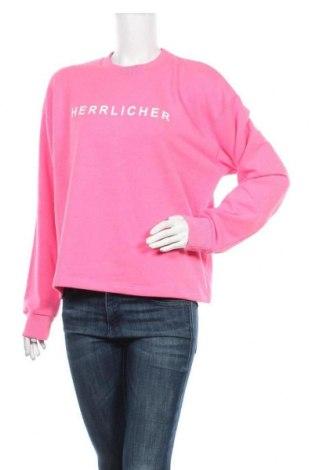 Дамска блуза Herrlicher, Размер M, Цвят Розов, 50% памук, 50% полиестер, Цена 57,85лв.