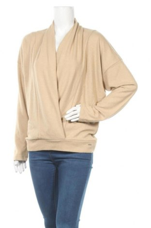 Дамска блуза Herrlicher, Размер XL, Цвят Бежов, 70% полиестер, 25% вискоза, 5% еластан, Цена 57,85лв.