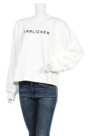 Дамска блуза Herrlicher, Размер M, Цвят Бял, 50% памук, 50% полиестер, Цена 57,85лв.