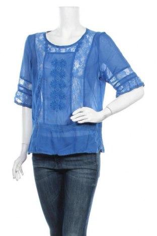 Дамска блуза Hot Options, Размер XL, Цвят Син, Полиестер, Цена 15,96лв.
