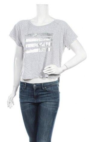 Дамска блуза Hot Options, Размер XL, Цвят Сив, Вискоза, полиестер, еластан, Цена 7,35лв.