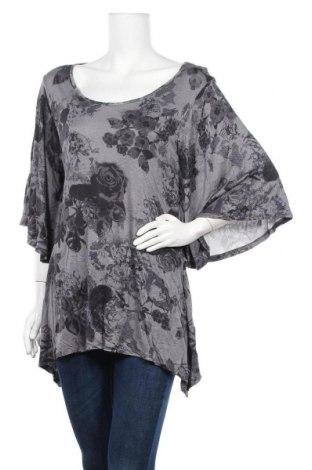 Дамска блуза Hot Options, Размер XL, Цвят Сив, Вискоза, Цена 6,25лв.
