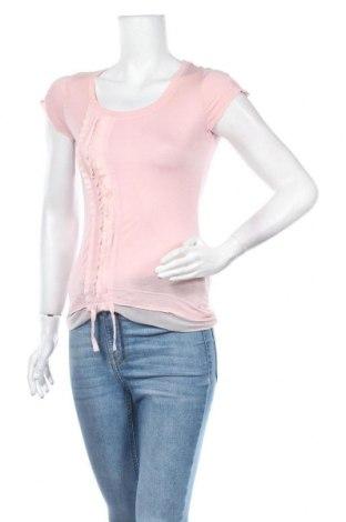 Дамска блуза Jennifer Taylor, Размер S, Цвят Розов, Вискоза, Цена 11,76лв.