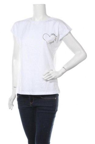 Дамска блуза Lascana, Размер M, Цвят Бял, Памук, Цена 30,66лв.