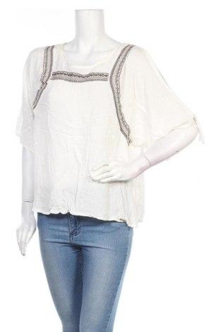 Дамска блуза Lee Cooper, Размер M, Цвят Екрю, Вискоза, Цена 16,07лв.