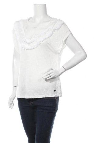 Дамска блуза Lee Cooper, Размер XL, Цвят Екрю, Вискоза, памук, Цена 8,51лв.