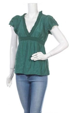 Дамска блуза Levi's, Размер S, Цвят Зелен, Коприна, Цена 39,00лв.