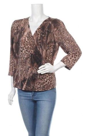 Дамска блуза Liz Jordan, Размер XL, Цвят Многоцветен, 94% полиестер, 6% еластан, Цена 8,98лв.