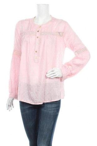 Дамска блуза Ltb, Размер L, Цвят Розов, Вискоза, Цена 32,20лв.