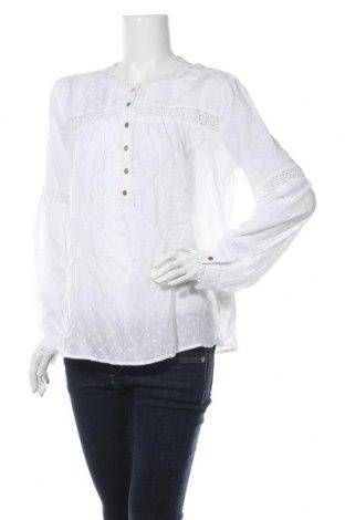 Дамска блуза Ltb, Размер L, Цвят Бял, Вискоза, Цена 26,60лв.