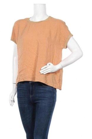 Дамска блуза Luxzuz One Two, Размер M, Цвят Бежов, Вискоза, Цена 6,62лв.
