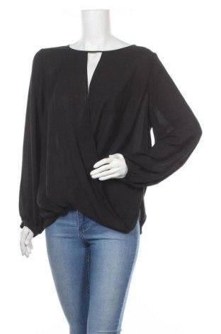 Дамска блуза MICHAEL Michael Kors, Размер XL, Цвят Черен, Полиестер, Цена 58,50лв.