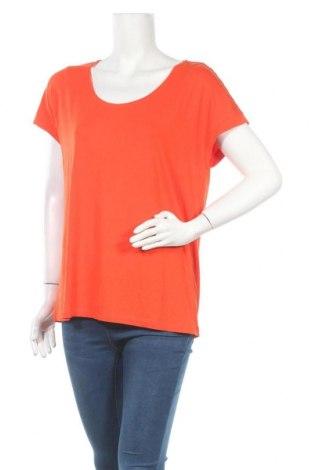 Дамска блуза Madeleine, Размер L, Цвят Оранжев, 95% вискоза, 5% еластан, Цена 24,89лв.