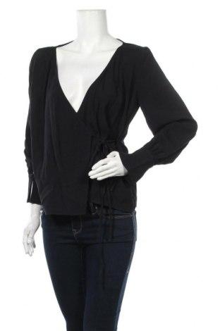 Дамска блуза Max&Co., Размер M, Цвят Черен, Вискоза, Цена 155,35лв.