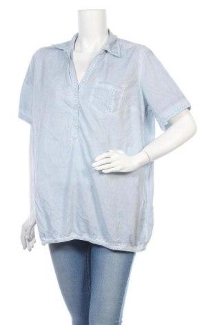 Дамска блуза Maxi Blue, Размер XL, Цвят Син, Памук, Цена 4,46лв.