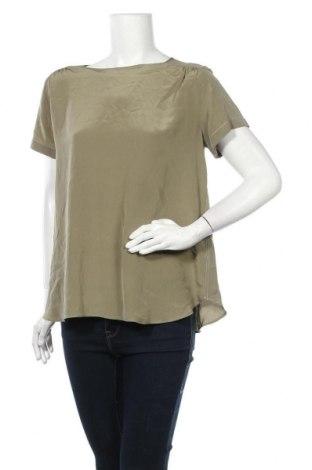Дамска блуза Mih Jeans, Размер L, Цвят Зелен, Цена 35,91лв.