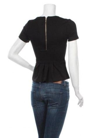 Дамска блуза Mint & Berry, Размер XXS, Цвят Черен, 66% вискоза, 29% полиамид, 5% еластан, Цена 13,66лв.