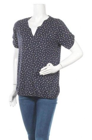 Дамска блуза Multiblu, Размер L, Цвят Син, 50% памук, 50% модал, Цена 15,75лв.