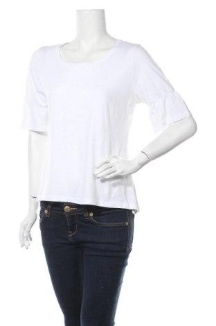 Дамска блуза Multiblu, Размер XL, Цвят Бял, 50% памук, 50% модал, Цена 11,60лв.