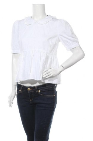 Γυναικεία μπλούζα New Look, Μέγεθος M, Χρώμα Λευκό, Βαμβάκι, Τιμή 6,50€