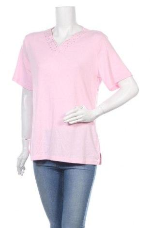 Дамска блуза Noni B, Размер XL, Цвят Розов, 65% полиестер, 35% памук, Цена 17,85лв.