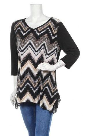 Дамска блуза Noni B, Размер XL, Цвят Черен, Полиестер, еластан, Цена 14,96лв.