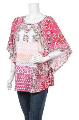 Дамска блуза Noni B, Размер L, Цвят Многоцветен, Полиестер, еластан, Цена 11,97лв.