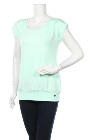 Дамска спортна блуза Ocean, Размер M, Цвят Зелен, 92% полиестер, 8% еластан, Цена 11,90лв.
