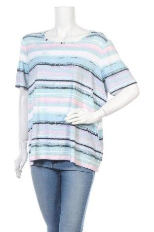 Дамска блуза Paola, Размер XXL, Цвят Многоцветен, 95% вискоза, 5% еластан, Цена 5,67лв.