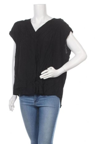 Дамска блуза Ping Pong, Размер XL, Цвят Черен, Вискоза, Цена 11,97лв.