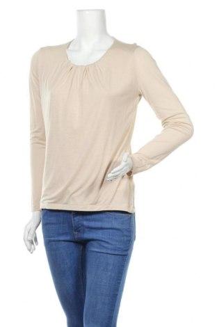 Дамска блуза Rene Lezard, Размер S, Цвят Бежов, Лиосел, Цена 33,75лв.