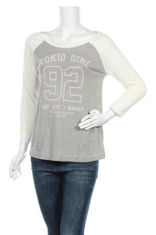 Дамска блуза Review, Размер M, Цвят Екрю, 50% памук, 50% полиестер, Цена 33,00лв.