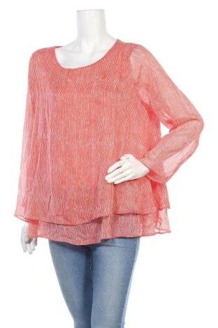 Дамска блуза Rivette&Blair, Размер XXL, Цвят Червен, Полиестер, Цена 37,80лв.