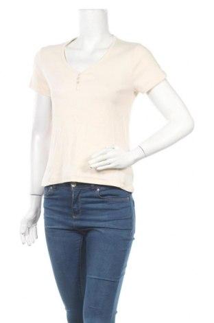 Дамска блуза S.Oliver, Размер M, Цвят Екрю, Памук, Цена 14,28лв.