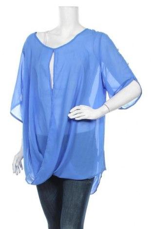 Дамска блуза Studio, Размер XXL, Цвят Син, Полиестер, Цена 15,75лв.