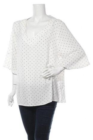 Γυναικεία μπλούζα Suzanne Grae, Μέγεθος XXL, Χρώμα Λευκό, 96% πολυεστέρας, 4% ελαστάνη, Τιμή 10,52€