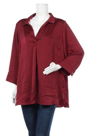 Γυναικεία μπλούζα Suzanne Grae, Μέγεθος XXL, Χρώμα Κόκκινο, Πολυεστέρας, Τιμή 8,48€