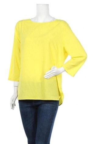 Γυναικεία μπλούζα Suzanne Grae, Μέγεθος XL, Χρώμα Κίτρινο, 97% πολυεστέρας, 3% ελαστάνη, Τιμή 10,52€