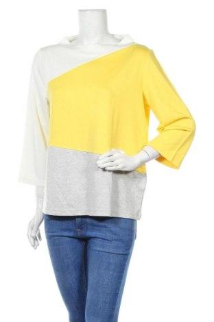 Дамска блуза Tom Tailor, Размер XL, Цвят Многоцветен, 83% вискоза, 14% акрил, 3% еластан, Цена 23,56лв.