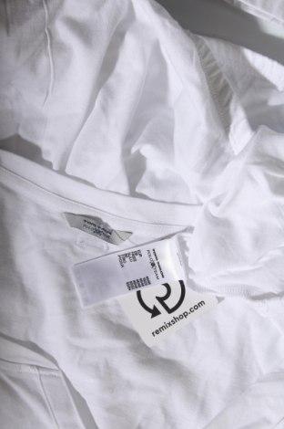 Γυναικεία μπλούζα Tom Tailor, Μέγεθος XL, Χρώμα Λευκό, 50% βαμβάκι, 50% μοντάλ, Τιμή 16,24€