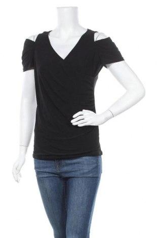 Дамска блуза Torrid, Размер XS, Цвят Черен, 92% полиестер, 8% еластан, Цена 4,66лв.