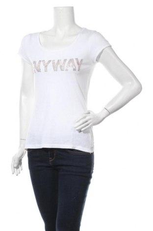 Дамска блуза Tramontana, Размер S, Цвят Бял, Памук, Цена 12,50лв.