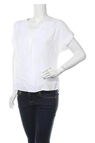 Дамска блуза Vivance, Размер M, Цвят Бял, Вискоза, Цена 26,52лв.