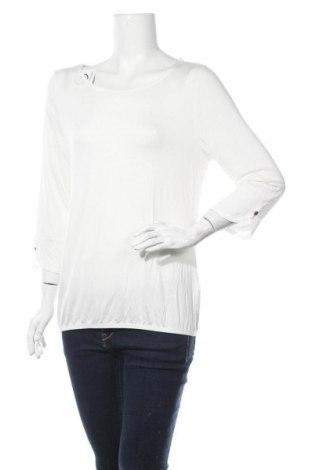 Дамска блуза Vivance, Размер L, Цвят Бял, 95% вискоза, 5% еластан, Цена 33,00лв.